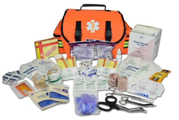 Lightning X Premium EMT Trauma Bag w Fill Kit A