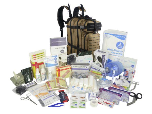 Lightning X Premium Tactical trauma backpack w M Kit