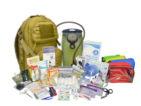 Lightning X Premium MOLLE, IFAK trauma backpack w MH Kit