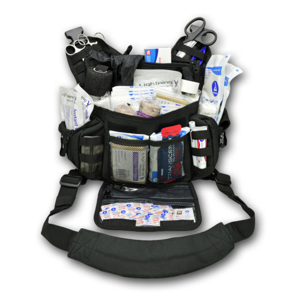 Lightning X Premium Trauma MedSling Bag w Fill Kit A