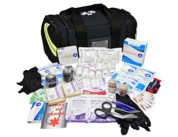 Compact First Responder Trauma Bag + Fill Kit