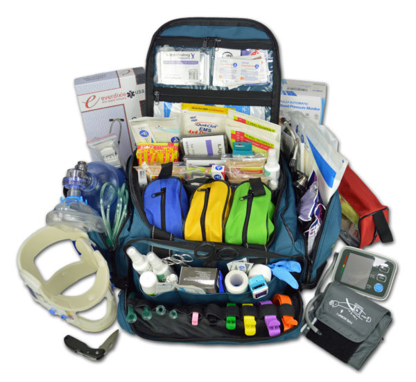 Lightning X Premium Medical Trauma Bag w Fill Kit F