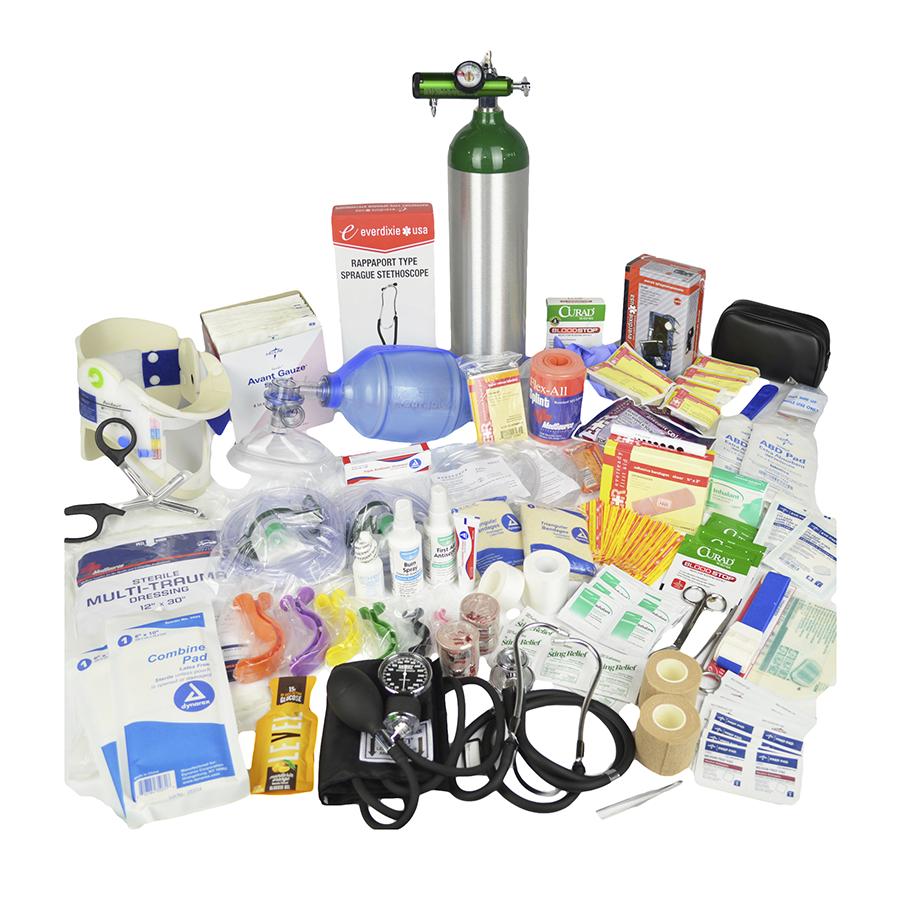 Lightning X Premium Medical First Aid Trauma Fill Kit D